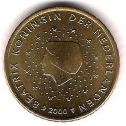Países Bajos. 2000. 50 Centimos (SC)
