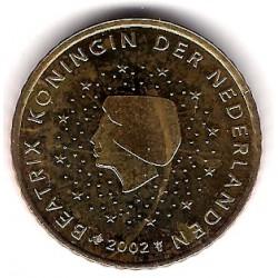 Países Bajos. 2002. 50 Céntimos (SC)