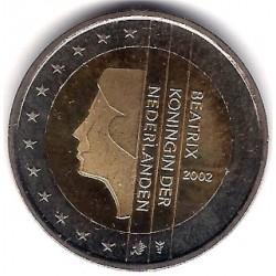 Países Bajos. 2002. 2 Euro (SC)