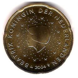 Países Bajos. 2004. 20 Céntimos (SC)