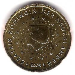 Países Bajos. 2005. 20 Céntimos (SC)