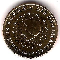 Países Bajos. 2006. 10 Céntimos (SC)
