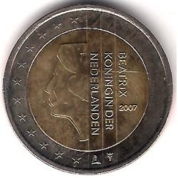 Países Bajos. 2007. 2 Euro (SC)