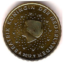 Países Bajos. 2012. 10 Céntimos (SC)