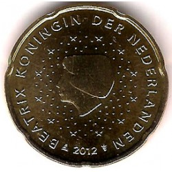 Países Bajos. 2012. 20 Céntimos (SC)