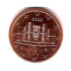 Italia. 2002. 1 Céntimo (SC)