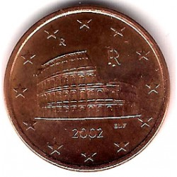 Italia. 2002. 5 Céntimos (SC)
