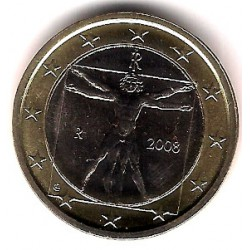 Italia. 2008. 1 Euro (SC)