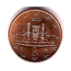 Italia. 2010. 1 Céntimo (SC)