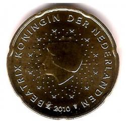 Países Bajos. 2010. 20 Céntimos (SC)
