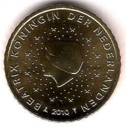 Países Bajos. 2010. 50 Céntimos (SC)