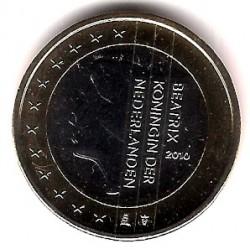 Países Bajos. 2010. 1 Euro (SC)