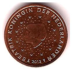 Países Bajos. 2012. 2 Céntimos (SC)