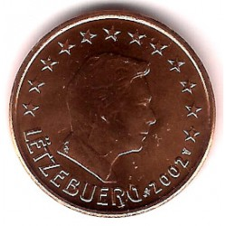 Luxemburgo. 2002. 5 Céntimos (SC)