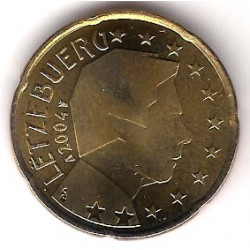 Luxemburgo. 2004. 20 Céntimos (SC)