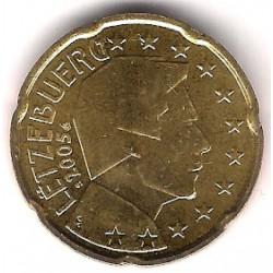 Luxemburgo. 2005. 20 Céntimos (SC)