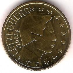 Luxemburgo. 2005. 50 Céntimos (SC)