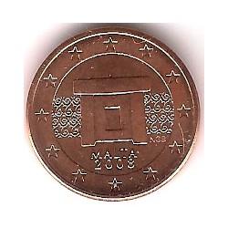 Malta. 2008. 1 Céntimo (SC)