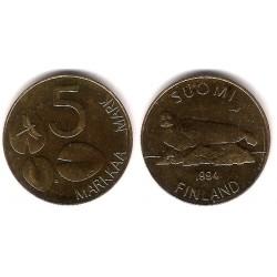 (73) Finlandia. 1994. 5 Markkaa (SC)