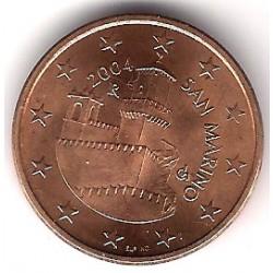San Marino. 2004. 5 Céntimos (SC)