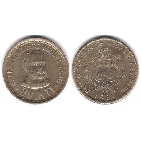 (296) Perú. 1987. 1 Inti (MBC)