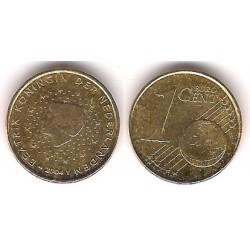 Países Bajos. 2004. 1 Céntimo (EBC) Equivocación de Metal