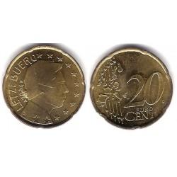 Luxemburgo. 2004. 20 Céntimo (SC) Exceso de metal