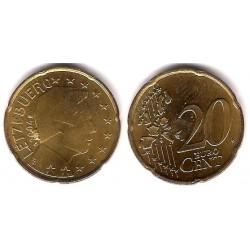 Luxemburgo. 2004. 20 Céntimos (SC) Exceso de metal