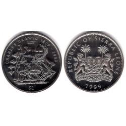 (115) Sierra Leona. 1999. 1 Dollar (SC)
