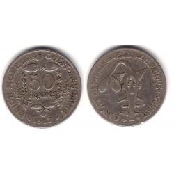 (6) Estados África Oeste. 1987. 50 Francs (BC)