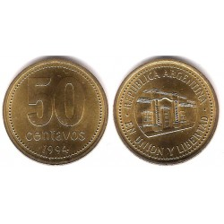 (111.1) Argentina. 1994. 50 Centavos (SC)