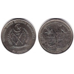 (1) República Saharaui. 1990. 50 Pesetas (SC)