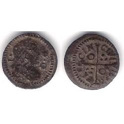 Luis XIV (Principado Catalán). 1648. Dinero (MBC-) Ceca de Barcelona