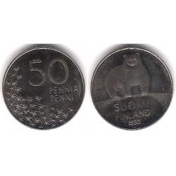 (66) Finlandia. 1992. 50 Pennia (SC)