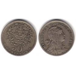 (577) Portugal. 1947. 50 Centavos (MBC)