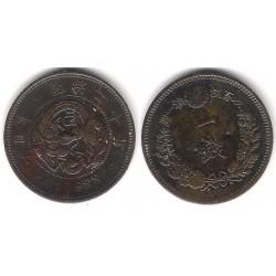(Y17.2) Japón. 1887(20). 1 Sen (MBC)