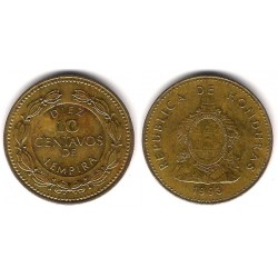 (76.2a) Honduras. 1993. 10 Centavos (MBC)