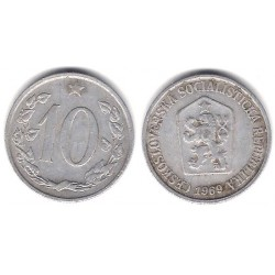 (49.1) Checoslovaquia. 1969. 10 Korun (BC+)
