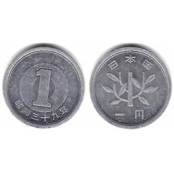 (Y74) Japón. 1964(39). 1 Yen (MBC)