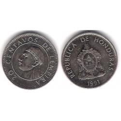 (83.1a) Honduras. 1991. 20 Centavos (SC)