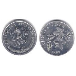 (4) Croacia. 1993. 2 Lipe (SC)