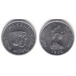 (17) Seychelles. 1972. 1 Cent (SC)