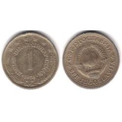 (59) Yugoslavia. 1978. 1 Dinar (MBC)