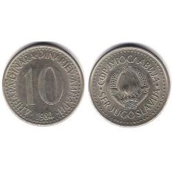 (89) Yugoslavia. 1989. 10 Dinara (MBC)