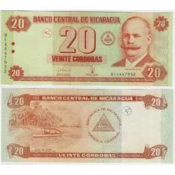 (197) Nicaragua. 2006. 20 Cordobas (SC)