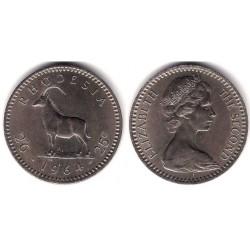 (4) Rhodesia. 1964. 2½ Shilling (MBC)