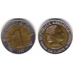 (122) Argentina. 1997. 1 Peso (MBC)