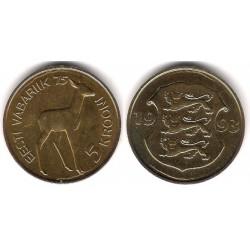(29) Estonia. 1993. 5 Krooni (SC)