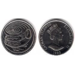 (89a) Islas Caimán. 1992. 10 Cents (SC)
