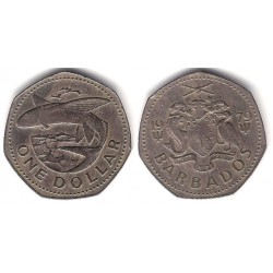 (14.1) Barbados. 1979. 1 Dollar (MBC)